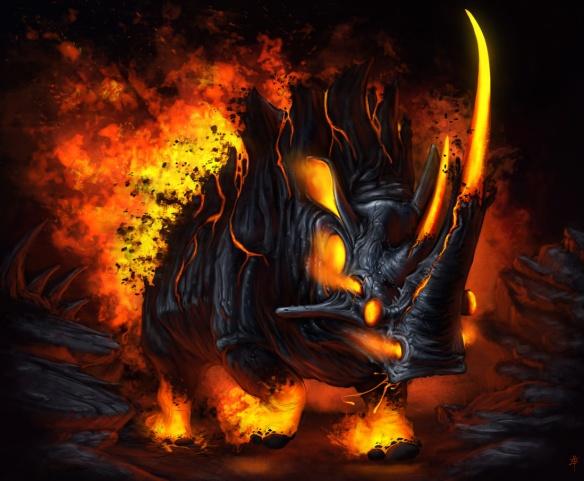 Hot Angry Rhino copy